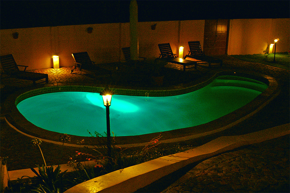 Facilities at night - Plettenberg Bay